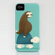 Slow Ride iPhone (4, 4s) Slim Case