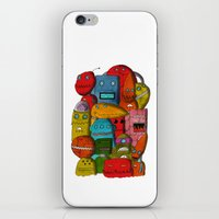 Robots Of Cornwall iPhone & iPod Skin