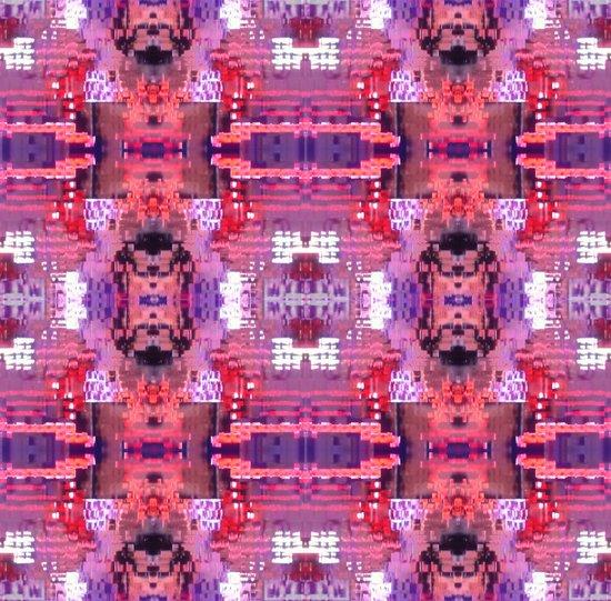 Purple Pixels Pixie Art Print