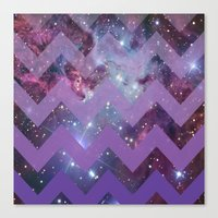 Infinite Purple Canvas Print