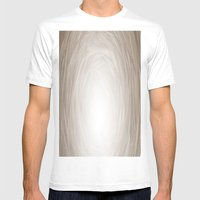 Fiber Mens Fitted Tee White SMALL