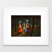 The Lost Brigade Framed Art Print