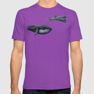 The Whale Who Met  Itsel… Mens Fitted Tee Ultraviolet LARGE