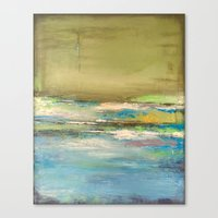 Land Meets Water Canvas Print