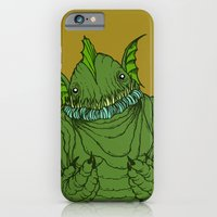 iPhone & iPod Case featuring Dagon wants a hug by motorbot