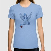 If I Was A Pony Womens Fitted Tee Athletic Blue SMALL
