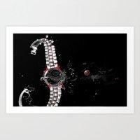 Time In A Space Continuu… Art Print