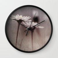 Dark Daisy... Wall Clock