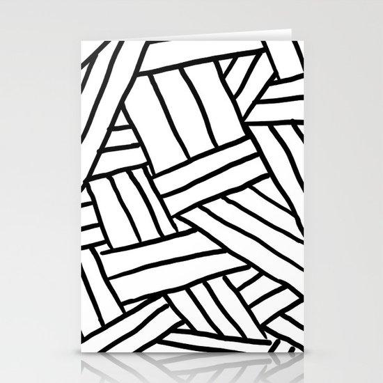 Raw Pattern Series: n.1 Stationery Card