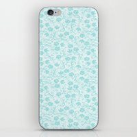 small floral pattern iPhone & iPod Skin