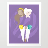 Teenage Endometriosis Awareness Art Print