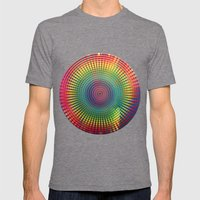 1000 Colors Circles Mens Fitted Tee Tri-Grey SMALL