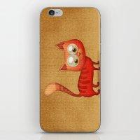 Cute Cat iPhone & iPod Skin