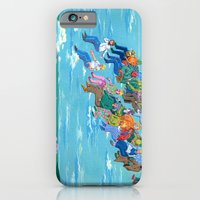 iPhone & iPod Case featuring Plane Without Plane by Valeriya Volkova