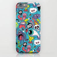 iPhone & iPod Case featuring Doodled Pattern by Chris Piascik
