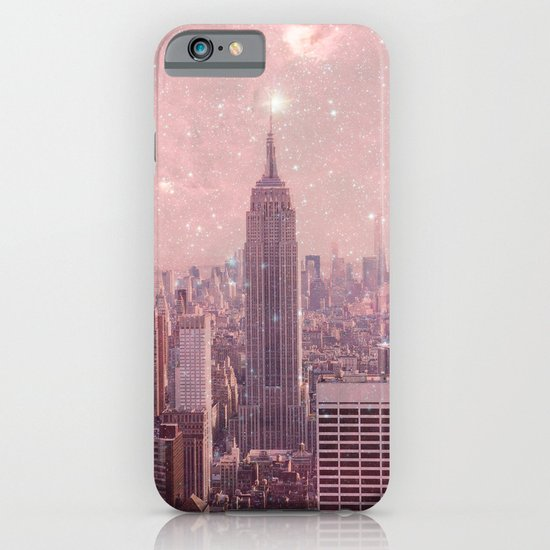 Stardust Covering New York iPhone & iPod Case