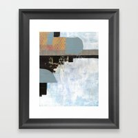 Abstrctcllg Framed Art Print