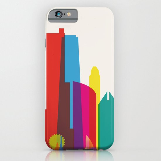 Shapes of Chicago. Accurate to scale iPhone & iPod Case
