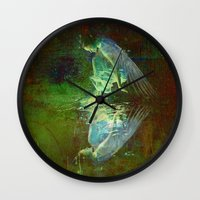 The Reflection Of The An… Wall Clock