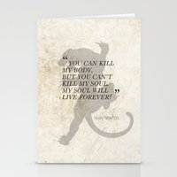 Famous Last Words: Huey … Stationery Cards