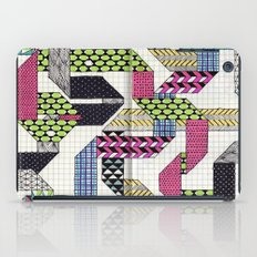 Ribbons with Patterns iPad Case