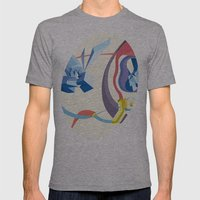 Diamonds, Hoses, Stairs,… Mens Fitted Tee Athletic Grey SMALL
