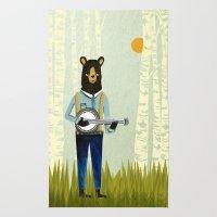 Bear's Bourree - Bear Pl… Rug