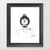 ENGOLINDO SAPOS Framed Art Print