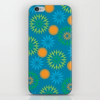 Spikey Flower Calm iPhone & iPod Skin