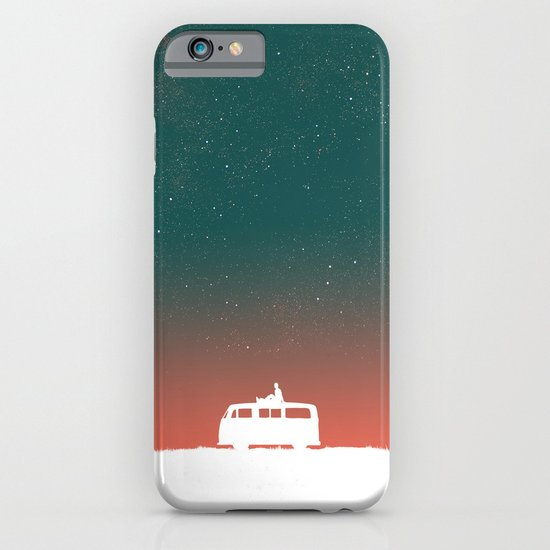Quiet Night - starry sky iPhone & iPod Case