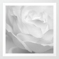 rose infrared Art Print