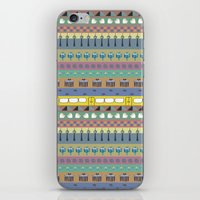 Berlin Pattern iPhone & iPod Skin