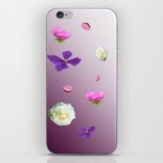 Blooming sky iPhone & iPod Skin