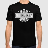 SAMCRO Teller-Morrow of Charming (Sons of Anarchy / Harley-Davidson) Mens Fitted Tee Black SMALL