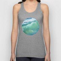 Teal Surf Unisex Tank Top