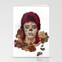 Ziggy De Los Muertos Stationery Cards