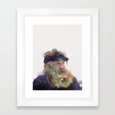 Lighthouse Keeper Framed Art Print