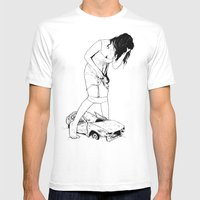 Growth And Gain Mens Fitted Tee White SMALL