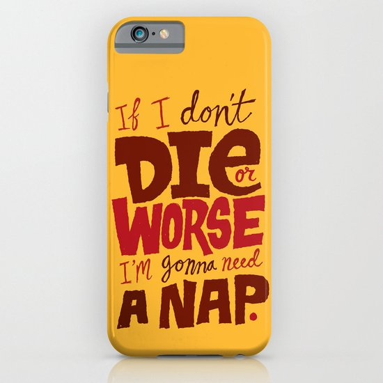 Die or Worse iPhone & iPod Case
