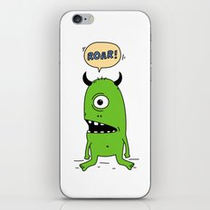 Roar! Monster! iPhone & iPod Skin