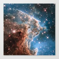 Monkey Head Nebula Canvas Print