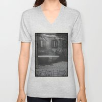 The floating woman Unisex V-Neck