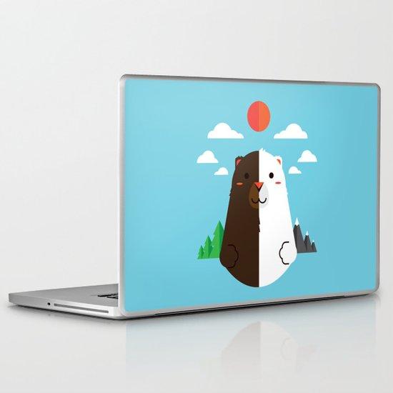 Grizzly & Polar Laptop & iPad Skin