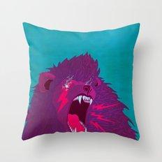 Voice of Thunder Throw Pillow