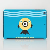 Don't Eat Me Vegan Fishie Art iPad Case