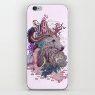 iPhone & iPod Skin featuring Forest Warden by Mat Miller