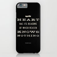 iPhone & iPod Case featuring The Heart Quote by Michael Jon Watt