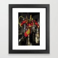 IRon Framed Art Print