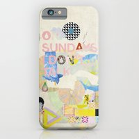 ON SUNDAYS I DON'T TALK iPhone 6 Slim Case