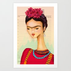 Icons / Frida Art Print